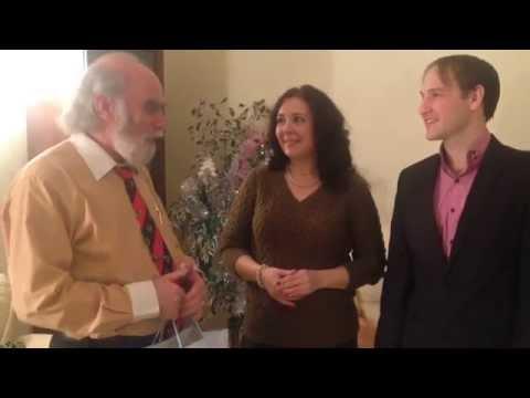 Поздравление победителя конкурса в честь дня рождения видео-клипа Питеринфобиз. Инфобизнес
