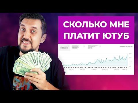 Сколько зарабатывают на YouTube   Сколько можно заработать на ютубе   Реальная статистика канала