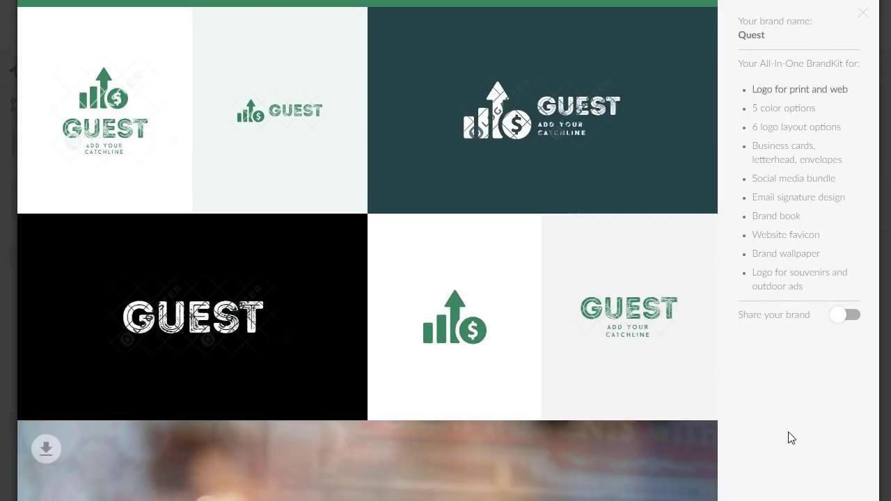 Logaster — создайте свой логотип и фирменный стиль бесплатно онлайн