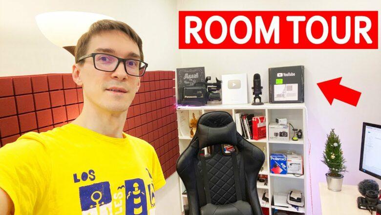 Как стать блогером 2021 ► ROOM TOUR Стас Быков. Школа блогеров и ютуберов #1